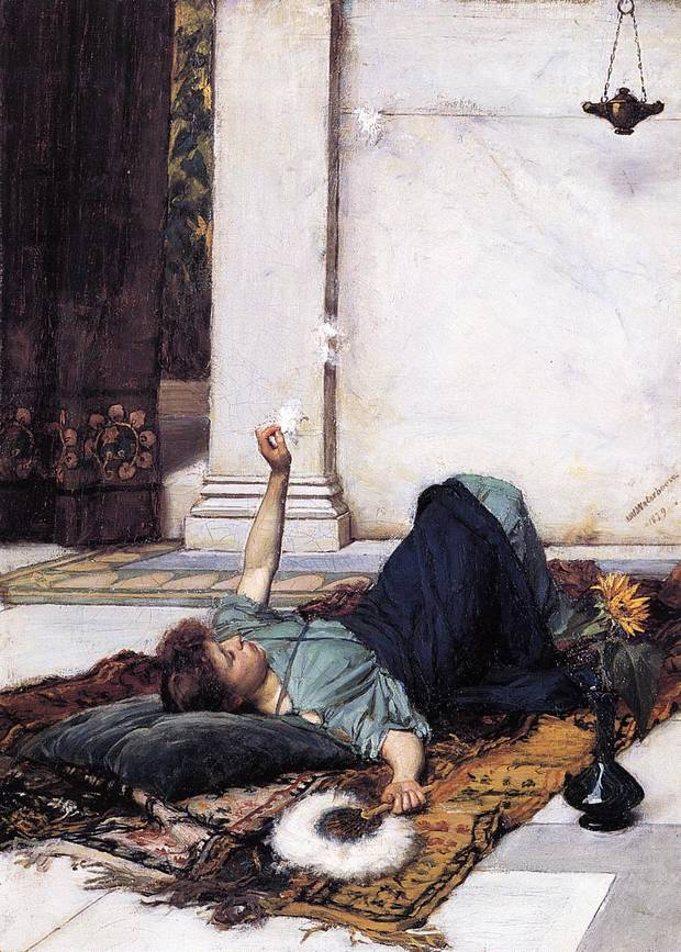 Картина маслом John William Waterhouse Dolce Far Niente