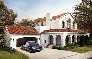 Солнечная крыша Tesla дешевле обычной