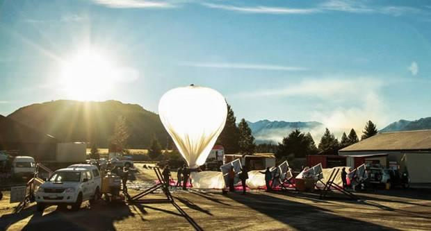 Проект Loon от гугла - интернет посредством воздушных шаров