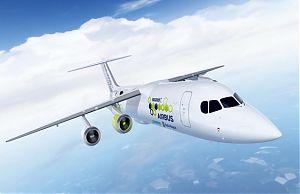 Электрический самолета E-Fan X