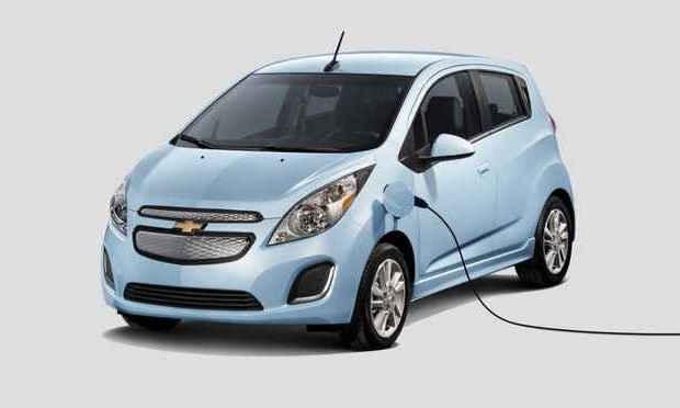 Электромобиль Chevy Spark