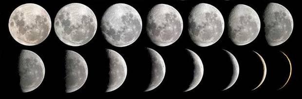 Луна может быть полой