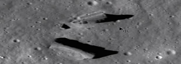 Искусственные структуры Луны