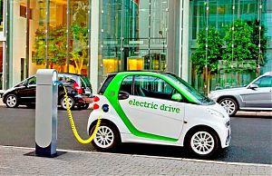 Электромобиль уже привычное явление