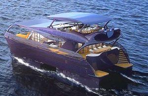 Электрическая яхта SolarImpact