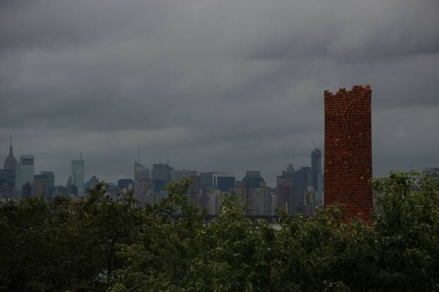 Из Норт-Бразера виден Манхэттен