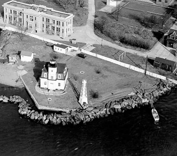 Остров Норт-Бразер в 1950-е годы