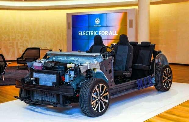 Платформа MEB для электромобилей