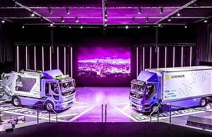 Первые коммерческие электрогрузовики Volvo FL Electric и Volvo FE Electric