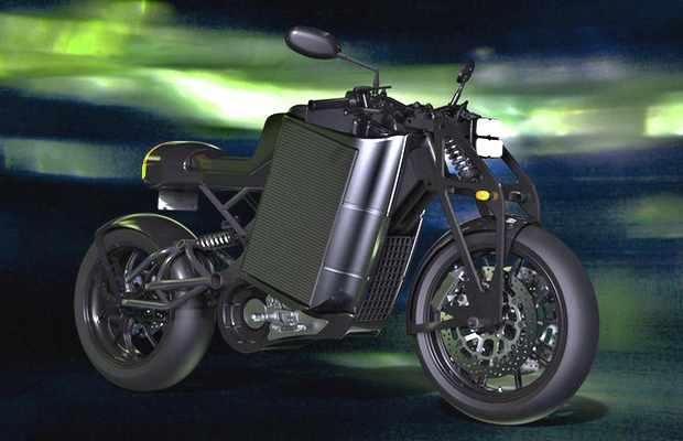 Прототип электрического мотоцикла