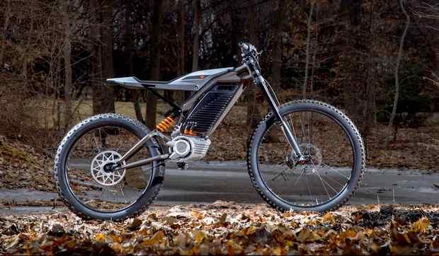 Концепт гоночного мотоцикла HD Electric