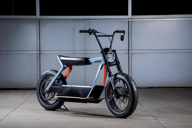 Концепт электрического скутера HD Electric